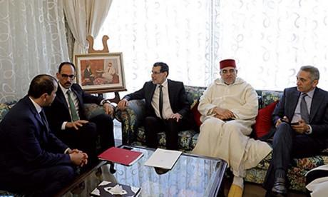 Saâd Eddine El Othmani reçoit le conseiller, porte-parole de la Présidence turque