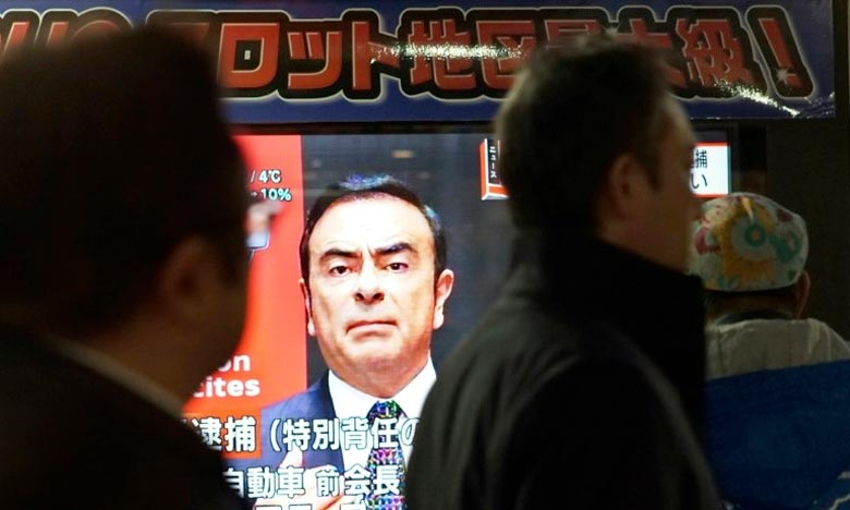 Ghosn s'engage à rester au Japon s'il est libéré sous caution