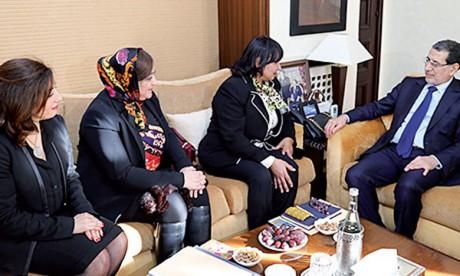 Le Chef du gouvernement rencontre le nouveau bureau de l'Association des femmes chefs d'entreprises du Maroc