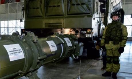 La Russie présente son missile controversé