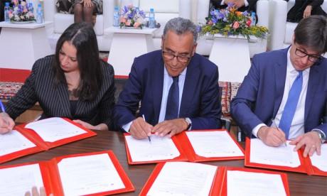 Signature d'un accord de partenariat  pour le développement de la filière hélicicole