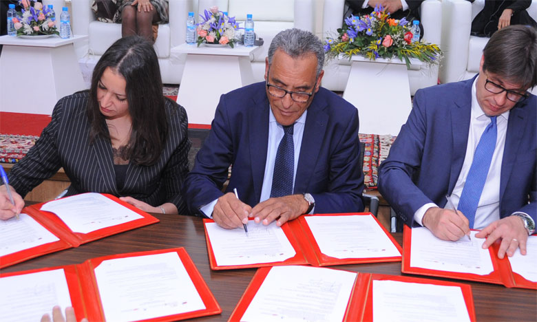 Le partenariat porte sur la mise en place d'un contrat d'exportation d'escargots vers l'Italie et la création de projets d'élevage, de valorisation et de transformation des escargots. Ph. AICPress