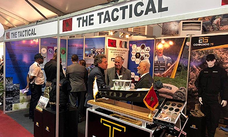 Le Maroc est présent aux pavillons de ce Salon à travers la société «The Tactical». Ph. MAP