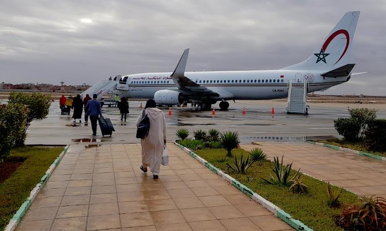 L'aéroport Hassan 1er de Laâyoune termine l'année sur une progression