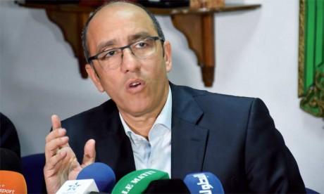 Jaouad Ziyat dit basta à la commission  de programmation et à l'arbitrage