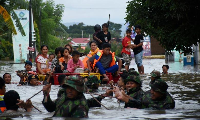 L'Indonésie encore touchée par des inondations