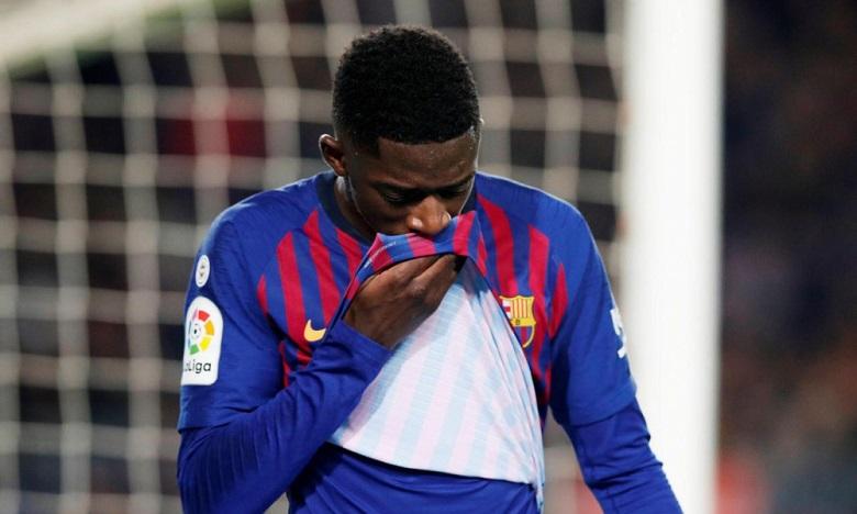FC Barcelone : Ousmane Dembélé souffre bien d'une entorse
