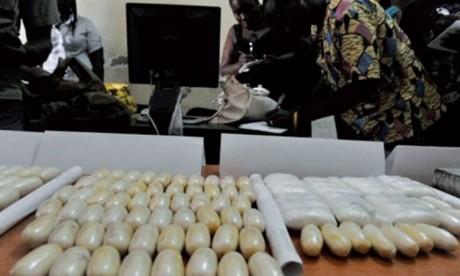 Aéroport Mohammed V: 3,7kg de cocaïne dans l'estomac d'un Sud-Africain et d'un Namibien