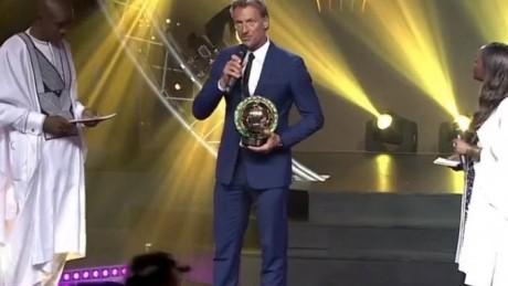 Hervé Renard élu entraîneur africain de l'année 2018
