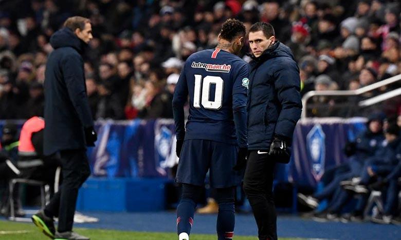Neymar victime d'une «réactivation» de sa blessure