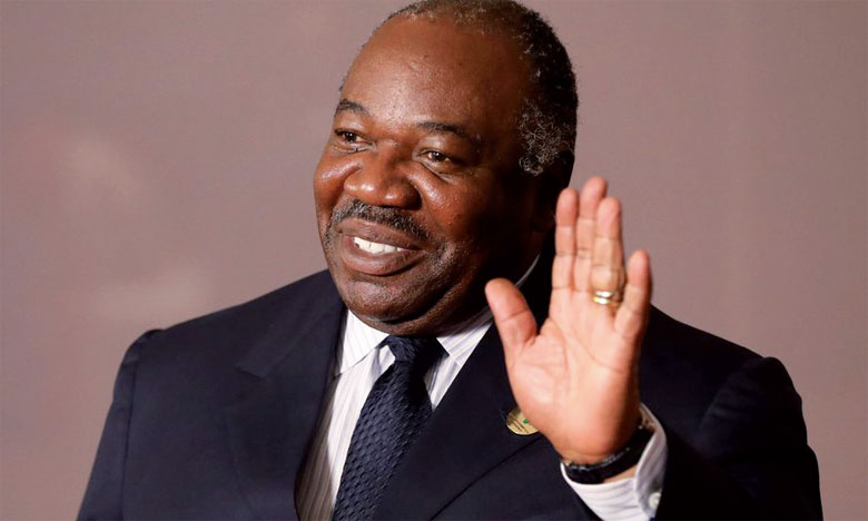 Le Président gabonais Ali Bango a été réélu en 2016.                                                                                                        Ph. Reuters
