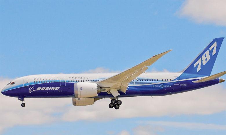 Le 787 Dreamliner a conforté son statut d'avion bicouloir qui s'est vendu le plus rapidement de l'histoire, estime Boeing.