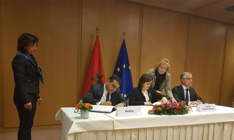 Signature à Bruxelles de l'accord de pêche entre le Maroc et l'UE