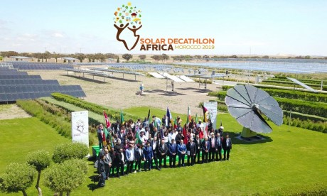 54 universités internationales au Solar Decathlon Africa de Benguérir