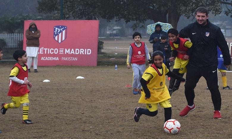 L'Atletico Madrid ouvre une académie de foot au pays du cricket !