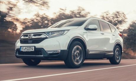 Le nouveau CR-V passe en mode hybride