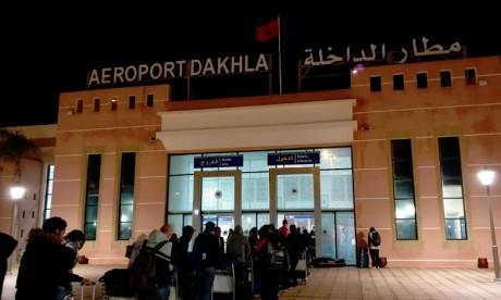 Dakhla : Le trafic aérien grimpe de 20,23% en 2018