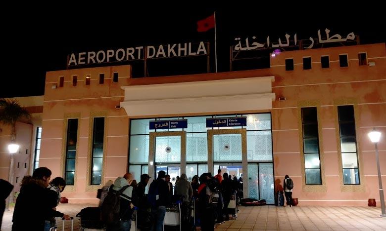 L'aéroport de Dakhla s'est adjugé 0,90% du total des mouvements du trafic aérien commercial au Maroc, se plaçant ainsi à la 10e place à l'échelle nationale. Ph : DR