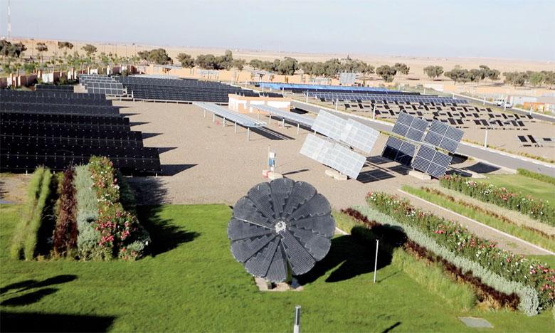 Le Green Energy Park de Benguérir, où se déroulera Solar Decathlon Africa, est une plateforme de recherche et de formation en énergie solaire développée par l'Iresen. Ph. DR