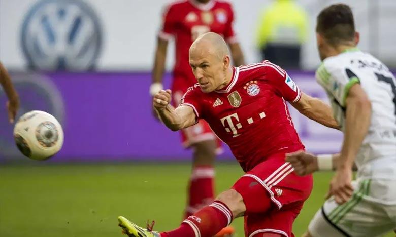 Le Néerlandais de 35 ans a annoncé en décembre dernier son intention de quitter le Bayern et de mettre un terme à sa carrière si aucune offre intéressante ne lui était faite. Ph : AFP