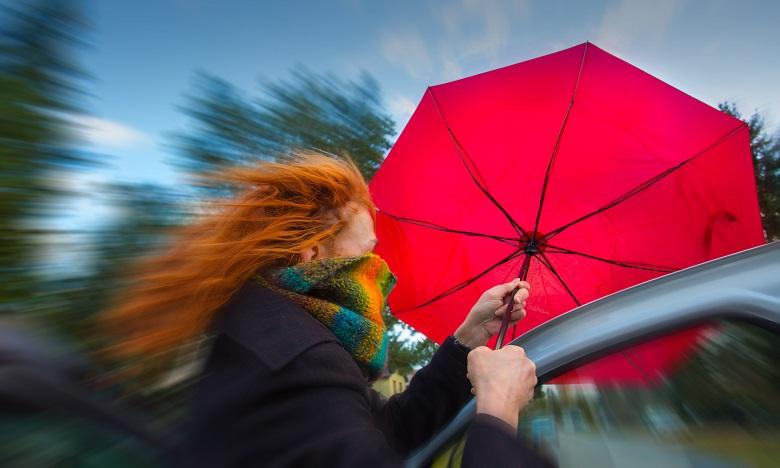 Fortes pluies et rafales de vent prévues vendredi