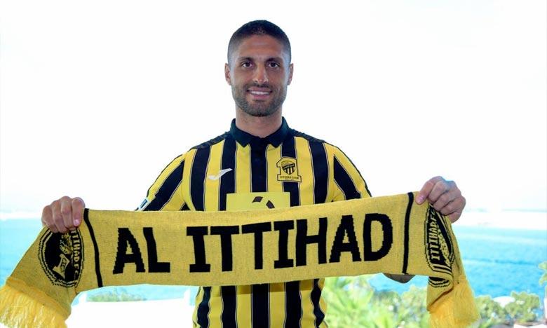 Marouan Da Costa évoluera en Arabie Saoudite. En effet, le Lion de l'Atlas a signé un contrat avec Al Ittihad Djeddah pour une durée de 2 ans et demi. Ph : DR