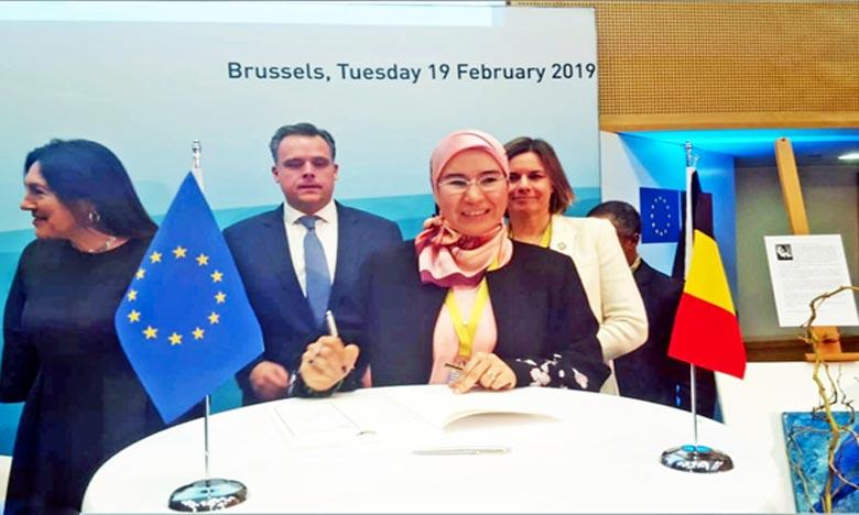 Le Maroc signe la Déclaration de Bruxelles