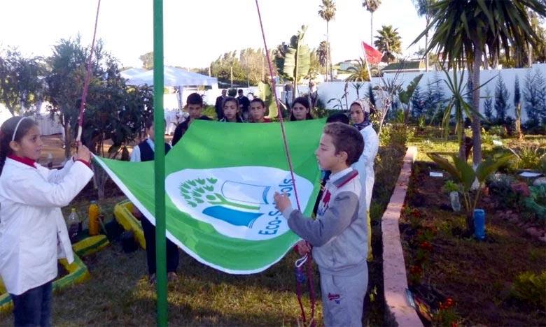 Quatre écoles labellisées «Pavillon vert» à Fès