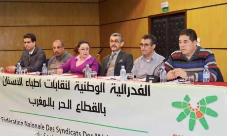 Les médecins dentistes en grève le 11 février
