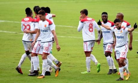 Le nul empêche les Rouge et Blanc, avec sept points, de devancer Mamelodi Sundowns, avec qui ils partagent la tête du classement. Ph : Seddik