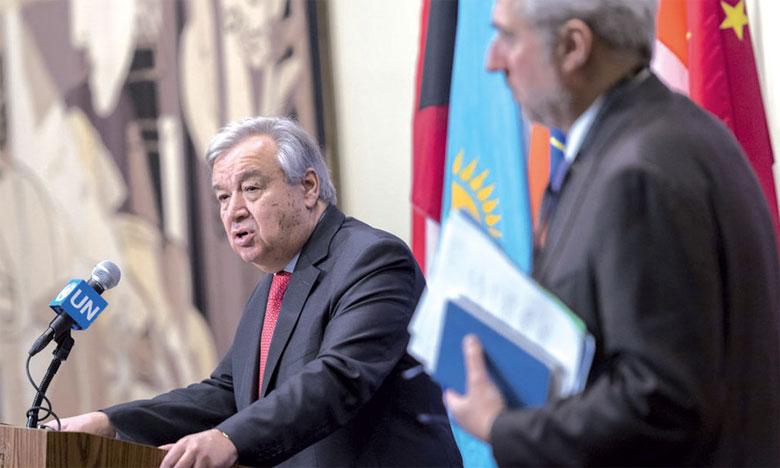 Pour l'ONU, la vision de deux États reste l'unique voie pour une solution juste et pacifique
