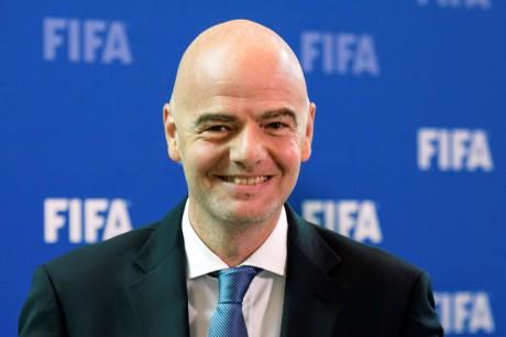 Infantino, seul candidat à la présidence de la FIFA