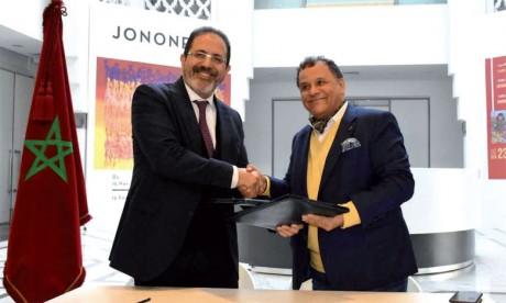 Convention de partenariat entre la Fondation nationale des musées et l'ONDA