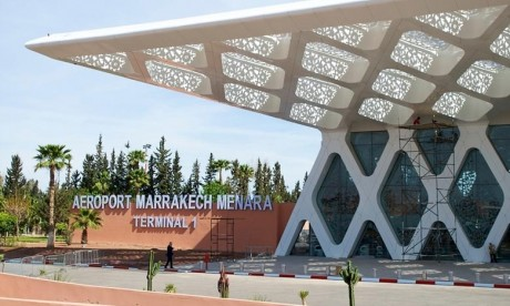 Hausse notable du trafic aérien à l'aéroport international de Marrakech-Menara