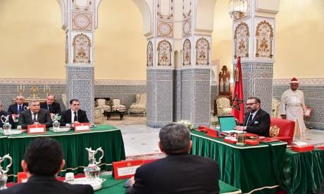 S.M. le Roi préside à Marrakech un Conseil des ministres