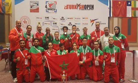 Le Maroc rafle cinq médailles
