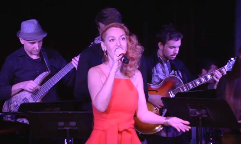 La Russe Marina Vinogradova enchantera le public avec les grands standards de jazz