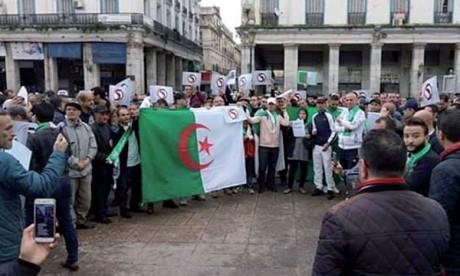 Manifestations contre le 5e mandat  de Bouteflika dans plusieurs wilayas