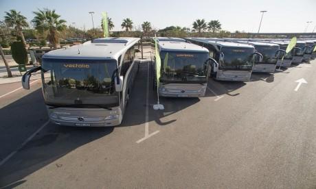 Vectalia s'engage à mettre en service une flotte de 70 autobus dans la perspective d'atteindre 90 bus au bout de 5 ans.