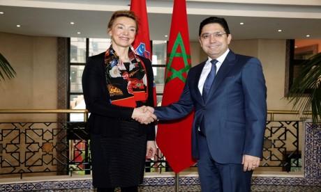 Le Maroc et la Croatie ont signé aujourd'hui trois accords de coopération. Ph. MAP