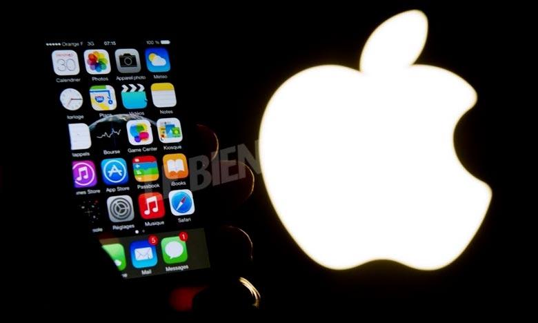 Le géant américain Apple a trouvé récemment un accord avec l'administration fiscale française afin de solder dix ans d'arriérés d'impôts. Ph :  AFP