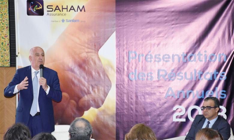 Les résultats financiers de Saham Assurance ont été révélés mardi à Casablanca.