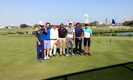 Le golfeur marocain Ayoub Id-Omar, auteur de 71 coups, a fini avec un coup sous le Par lors de la journée d'ouverture de ce championnat international. Ph. DR