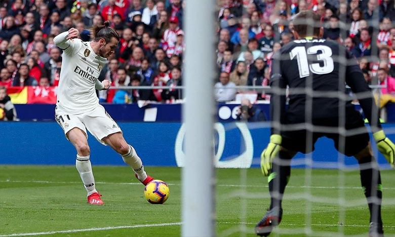 Le Real Madrid est sorti victorieux de ce derby au stade Metropolitano face à l'Atlético Madrid (1-3). Ph : DR
