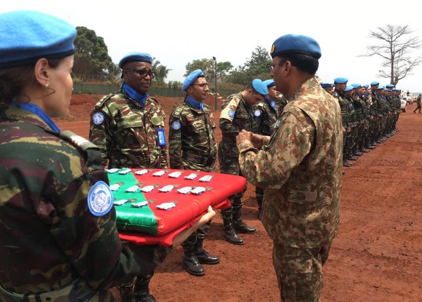 L'ONU rend hommage aux casques bleus marocains