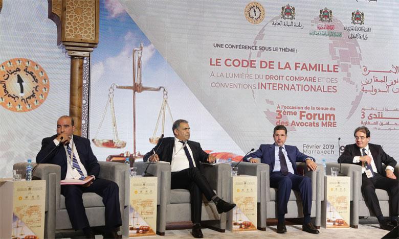 Le 3e Forum des avocats MRE se penche sur le Code de la famille à la lumière du droit comparé et des Conventions internationales
