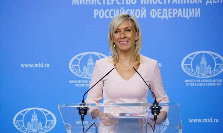 «C'est le triomphe d'une vraie démocratie en Ukraine», a ironisé la porte-parole de la diplomatie russe, Maria Zakharova suite à l'interdiction par l'Ukraine de la présence d'observateurs russes lors de la présidentielle en Ukraine.                                                                                                                Ph. Russia Press Service