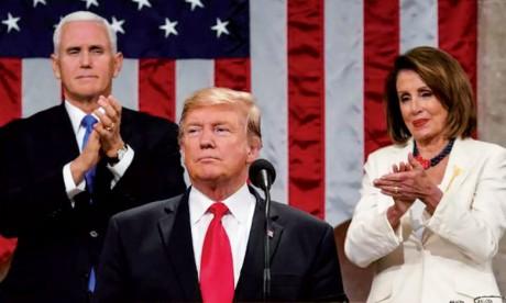 Trump appelle démocrates et républicains à l'unité