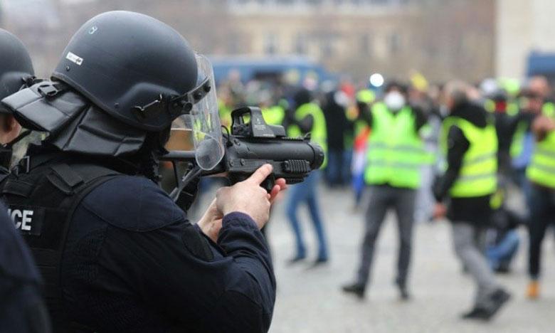 La plus Haute Juridiction administrative française a souligné que les forces de l'ordre doivent utiliser les lanceurs de balles de défense «sous réserve du strict respect des conditions d'usage.»                     Ph. AFP