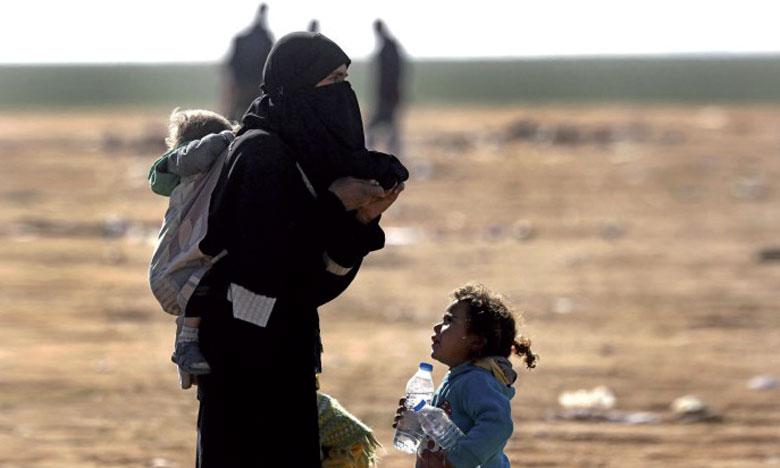 Les conditions sont telles qu'au moins 29 enfants sont morts en deux mois, principalement d'hypothermie, alors que leurs familles fuyaient Hajine, selon l'ONU.
